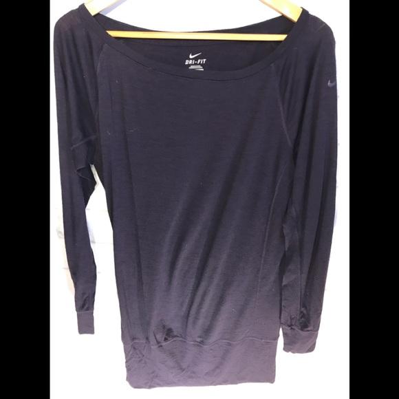 d9d51dfb Nike Tops | Drifit Long Sleeve T | Poshmark